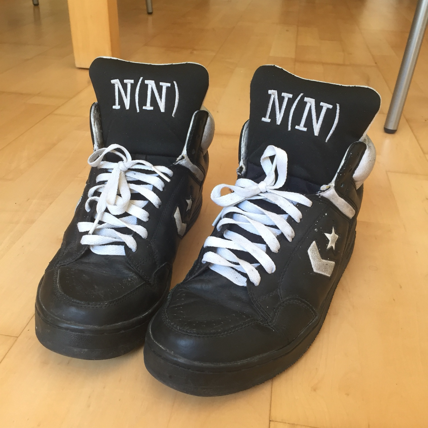 reasonably priced fashion style large discount Number Nine Converse Weapon Black High