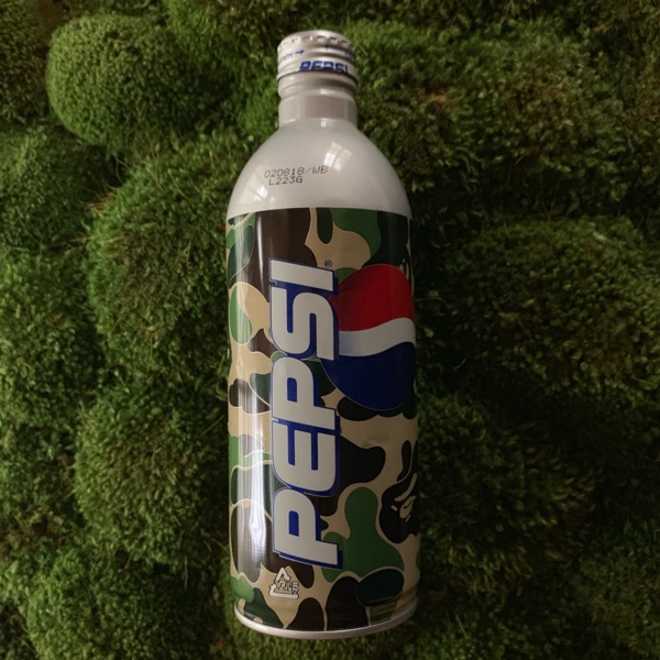 Bape X Pepsi Coke Can