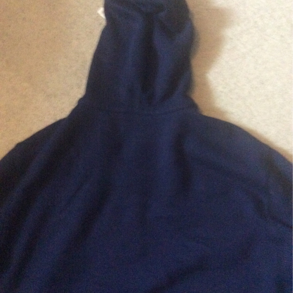 Navy Blue Polo Ralph Lauren Zipped Hoodie
