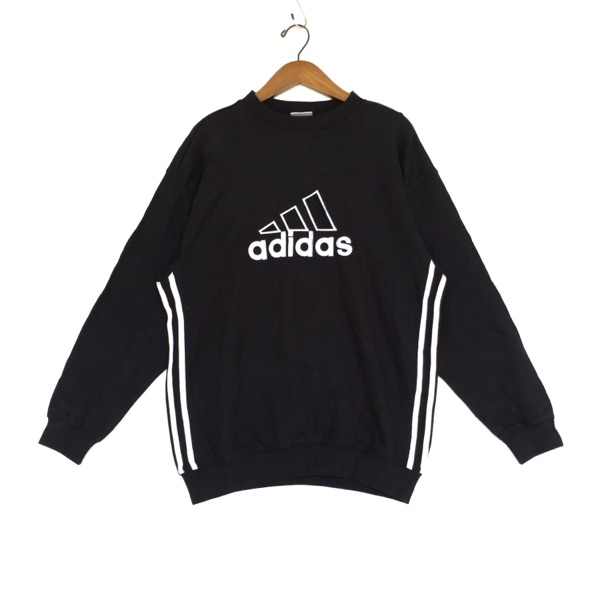 Adidas Sweatshirt Embroidered Big Logo