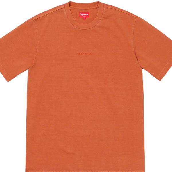 New Supreme Overdyed Rust (Ss19)