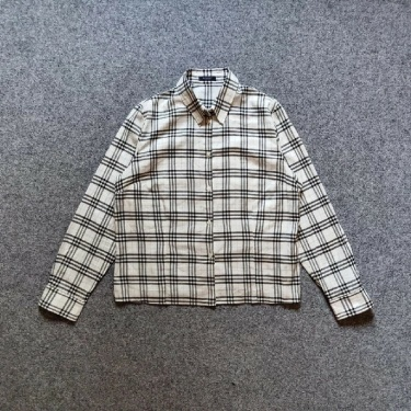 Burberry Shirt Nova Check Classic Long Sleeve Vintage