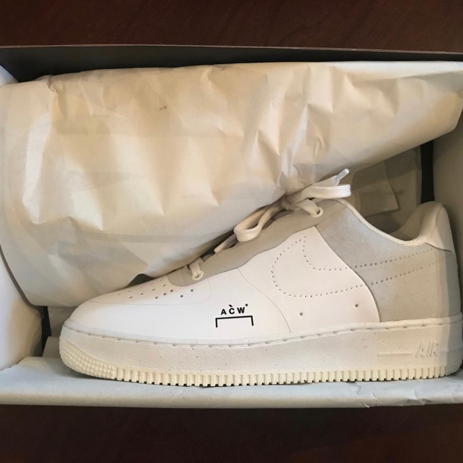 top quality coupon codes best Acw X Nike Air Force 1 White