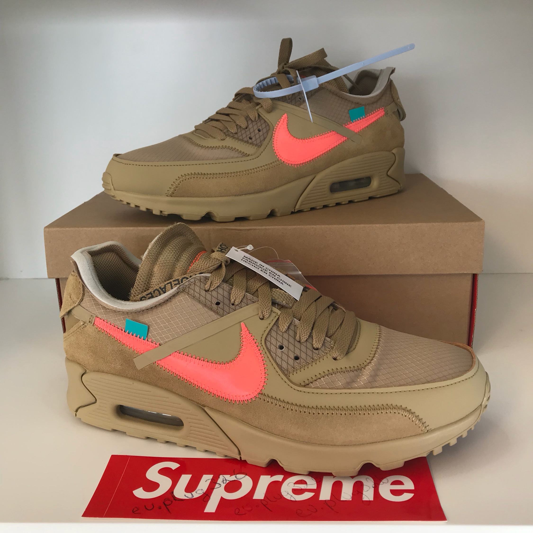 air max 90 off white desert