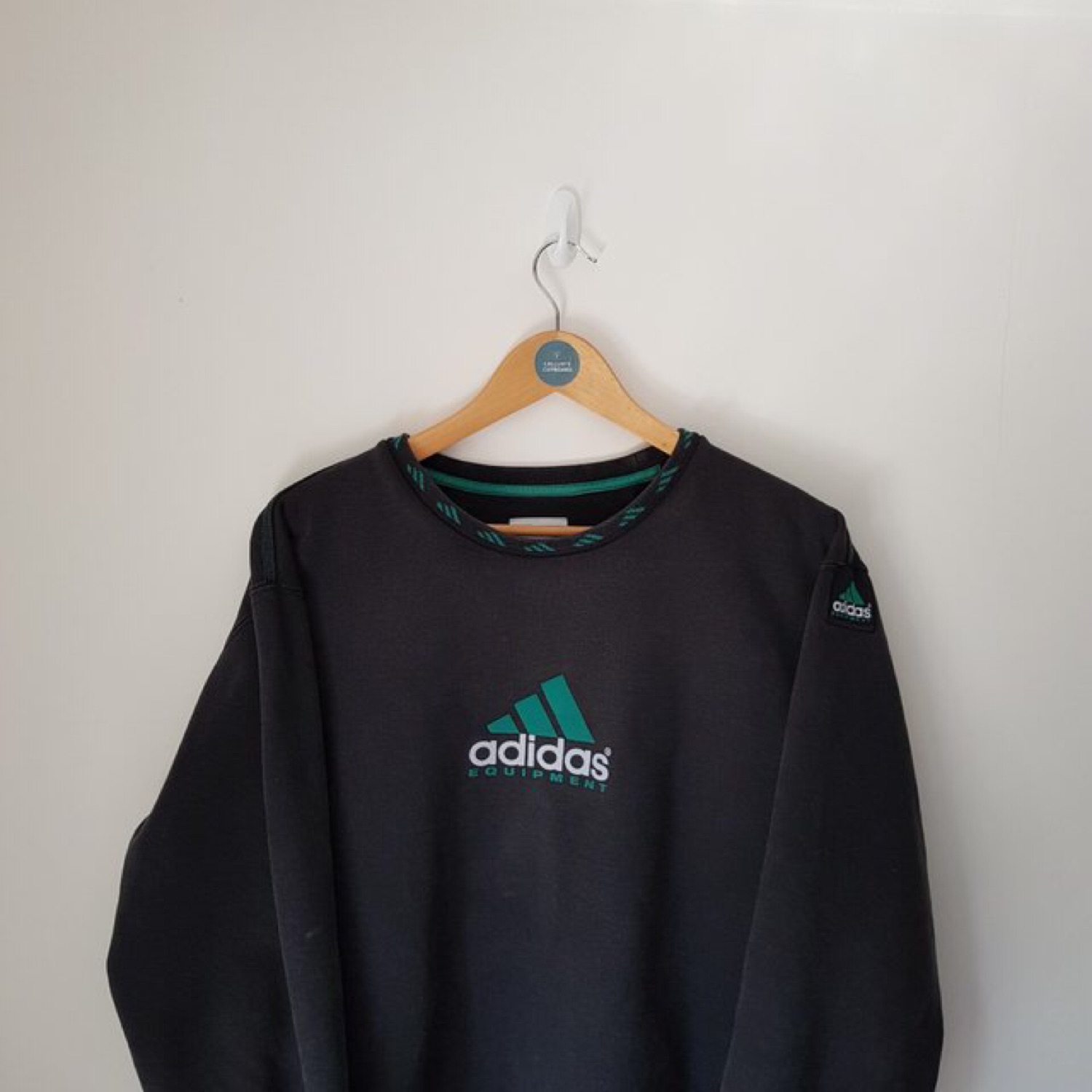 Adidas Equipment Pullover Sweatshirt Black Green