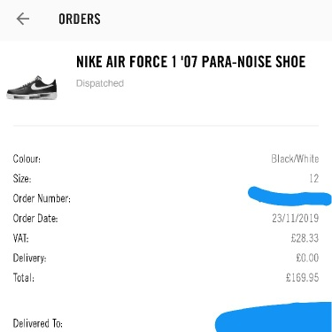 Air Force 1 Paranoise