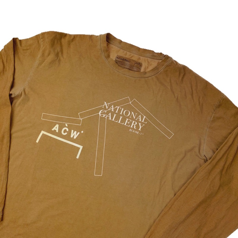 A-COLD-WALL* National Gallery Long Sleeve T Shirt