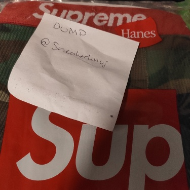 Supreme Hanes Thermal Pant (1 Pack) FW19 Woodland Camo