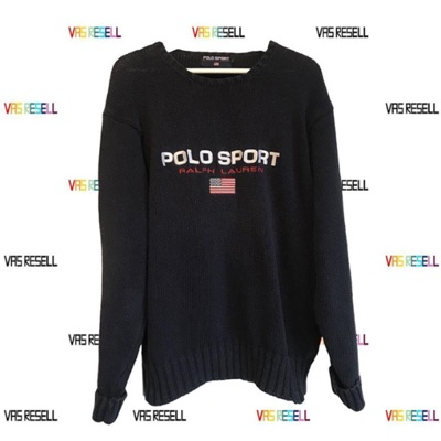Vintage Ralph Lauren Polo Sport Knitted Sweater L