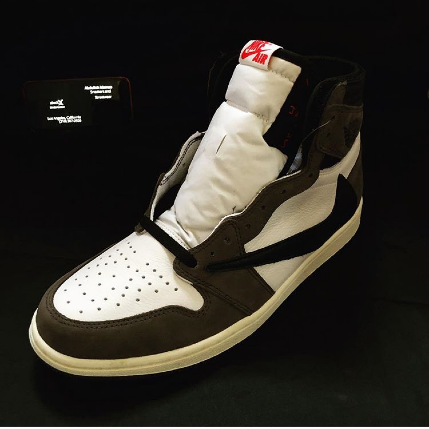 factory authentic 8e97d f5c6b Ds Cactus Jack Air Jordan 1 Travis Scott