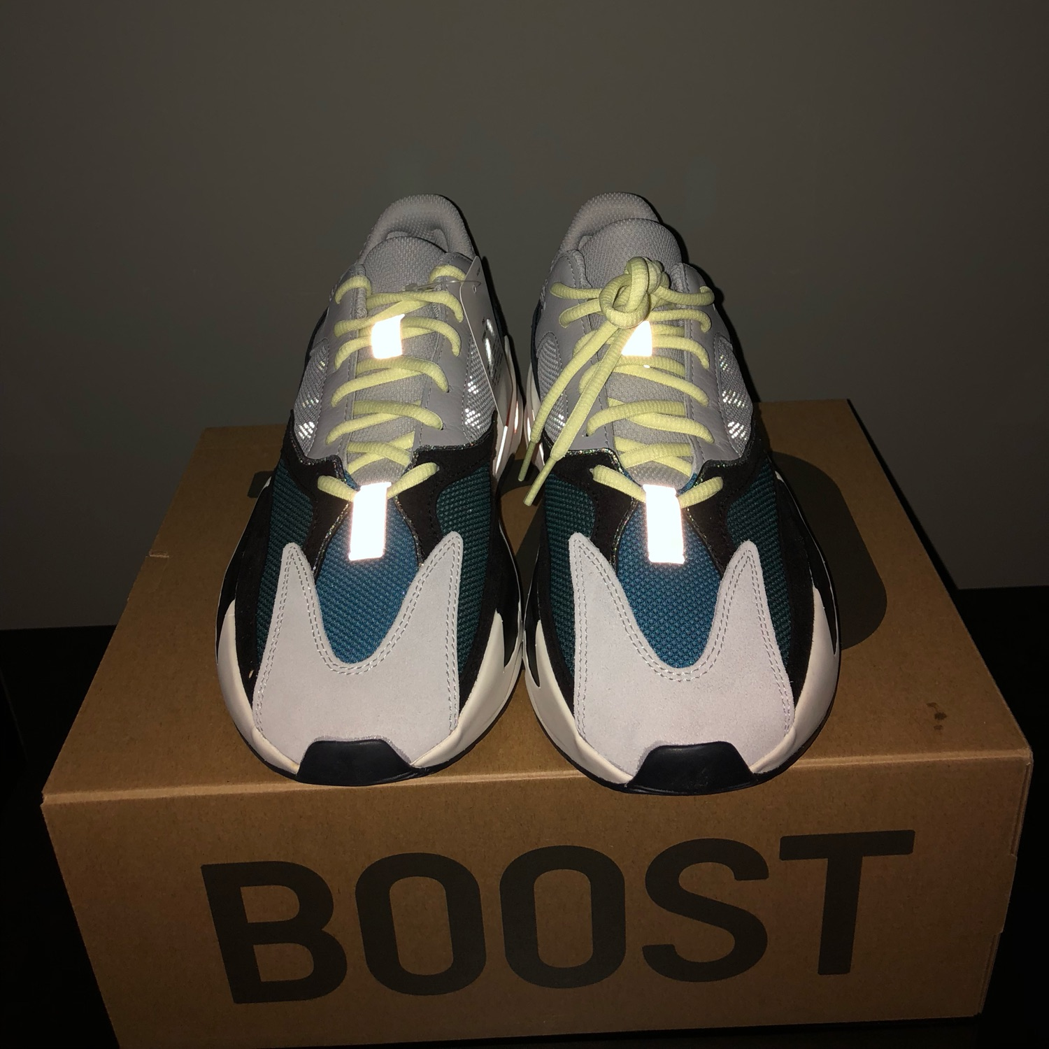 a9097a37ad2dc Adidas Yeezy Boost Wave Runner 700 Deadstock
