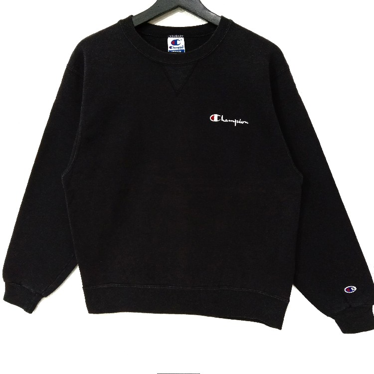 Vintage CHAMPION 90s Sweatshirt Small Logo Embroidery