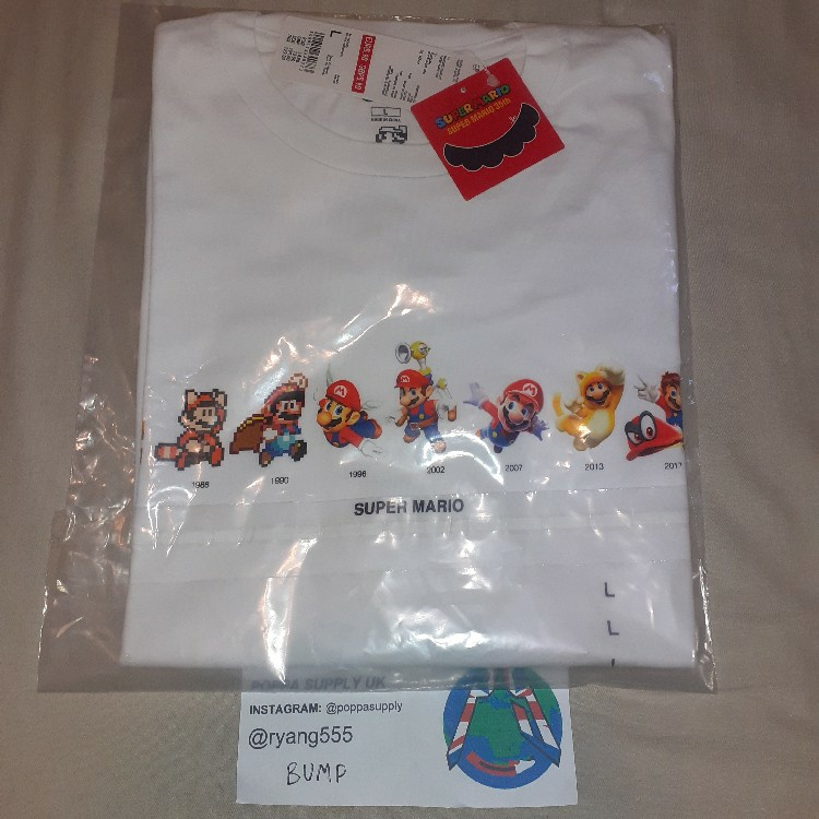 Uniqlo Super Mario Tee