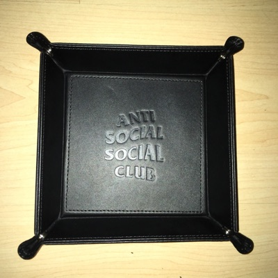 Anti Social Social Club Black Trailing Accessoriem