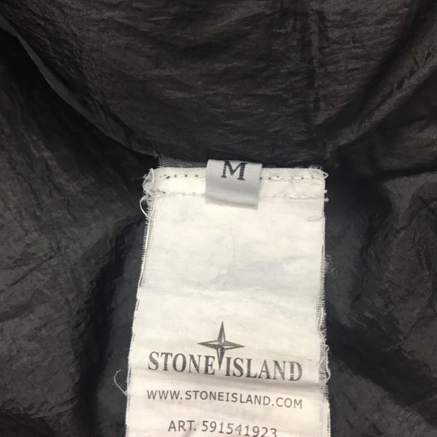 Stone Island AW2013 Garment Dyed Crinkle Reps NY Down Jacket