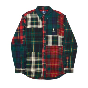 👕 Palace Ralph Lauren Pieced Flannel Plaid Multi 👕
