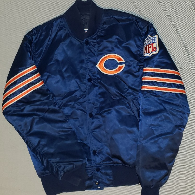 finest selection 2d212 3a4d5 NFL Chicago Bears Authentic Pro Line By Starter Jacket