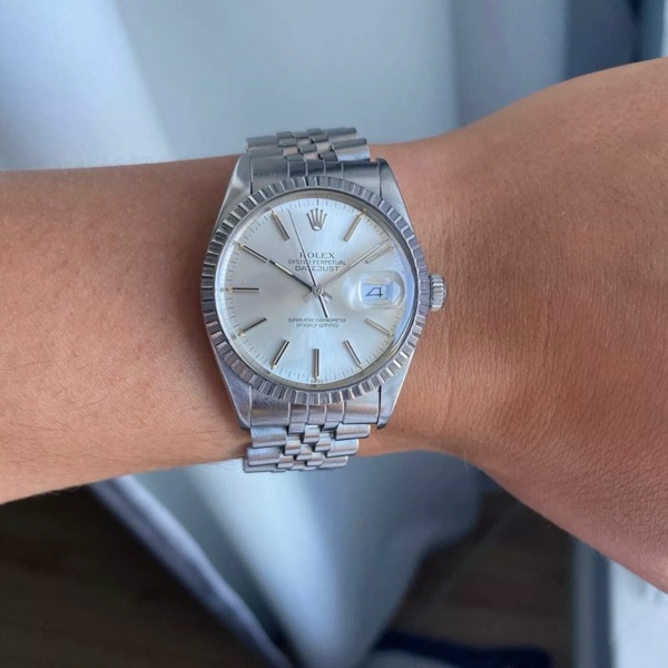 Vintage Datejust Rolex With All Documents