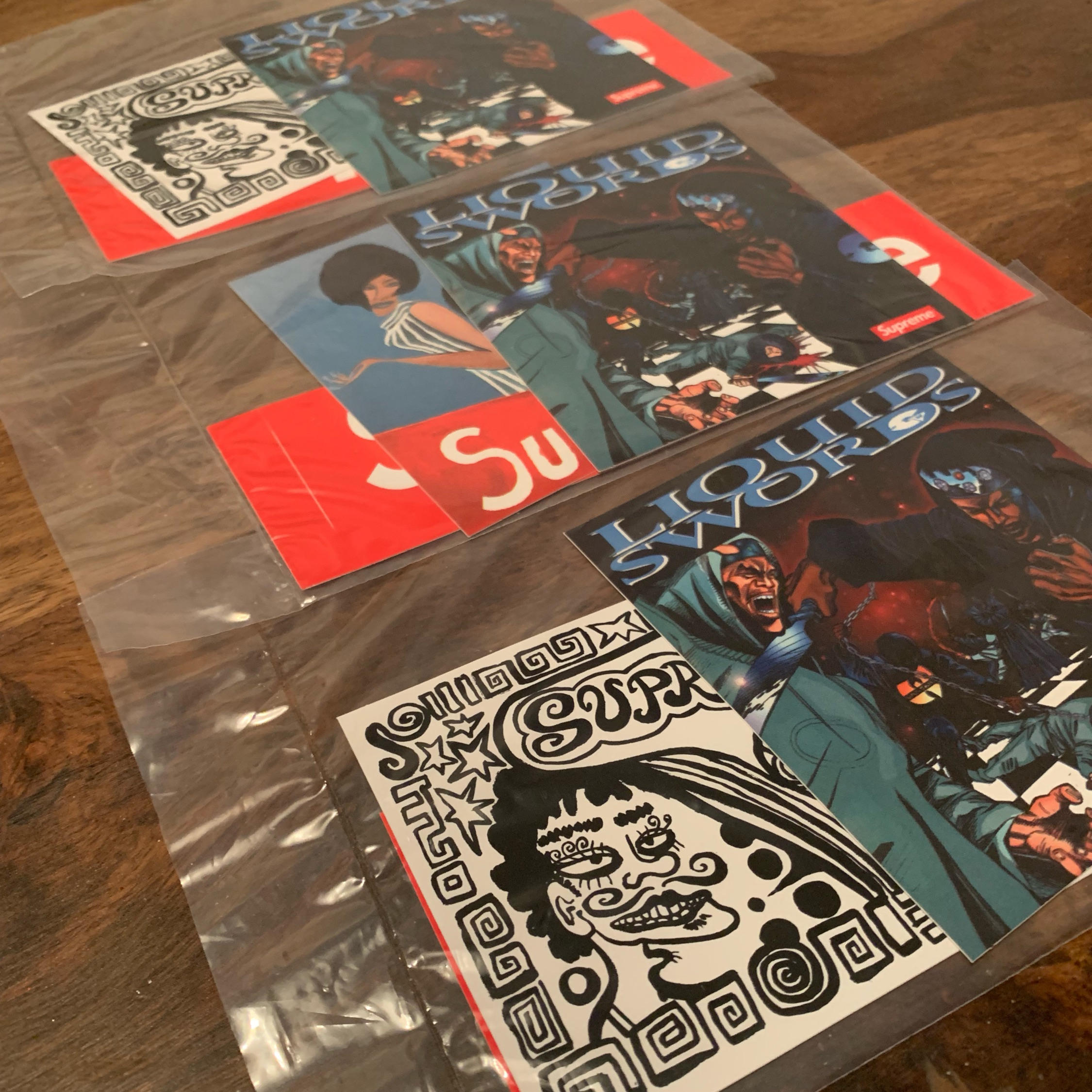 Supreme Liquid Swords Sticker Packs