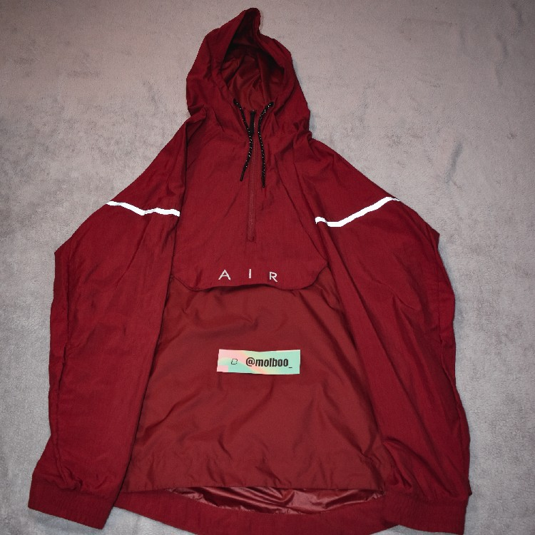 Red Nike Jacket Fleece Reflective Details Air Max 97 Collection