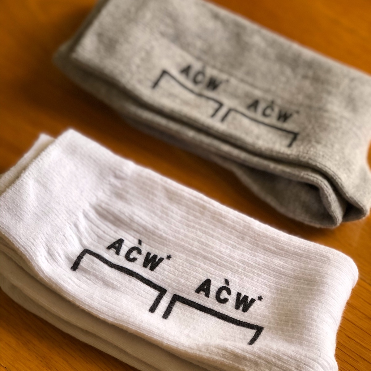 A Cold Wall Socks Logo Double Pack