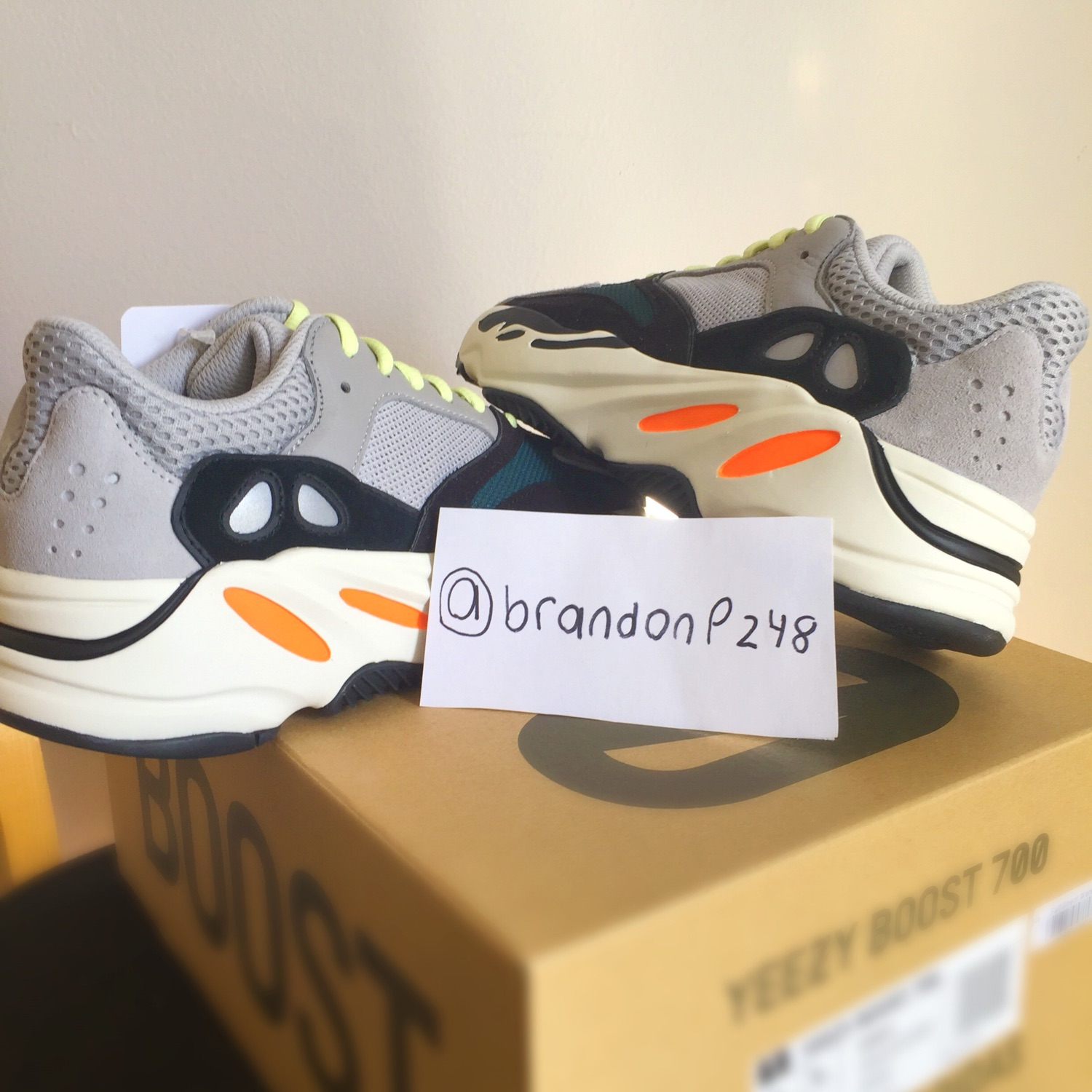 cheap for discount 1692e 0dc26 *Price Negotiable* Adidas Yeezy 700 Wave Runners