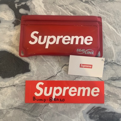 Supreme Sea Line Waterproof Case
