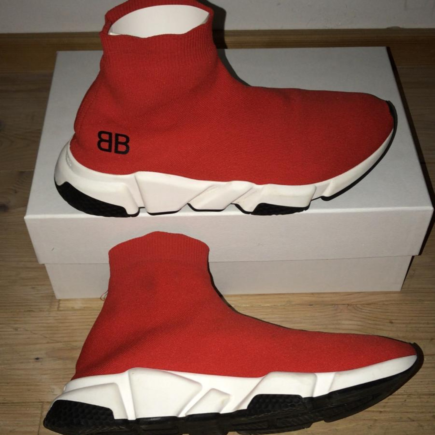 Bought Balenciaga Speed Trainers from