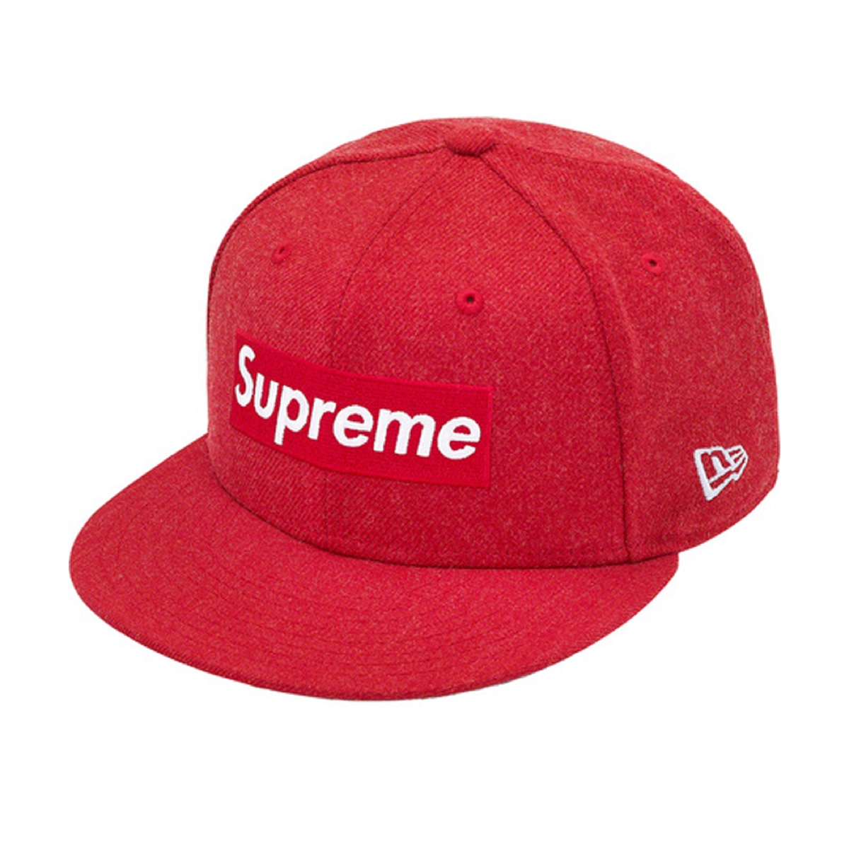 Supreme World Famous Box Logo New Era Red