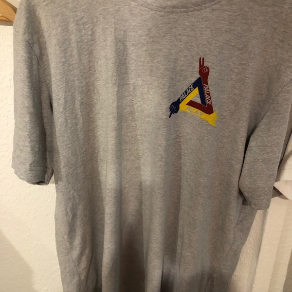 Palace JCDC T-Shirt Grey Marl