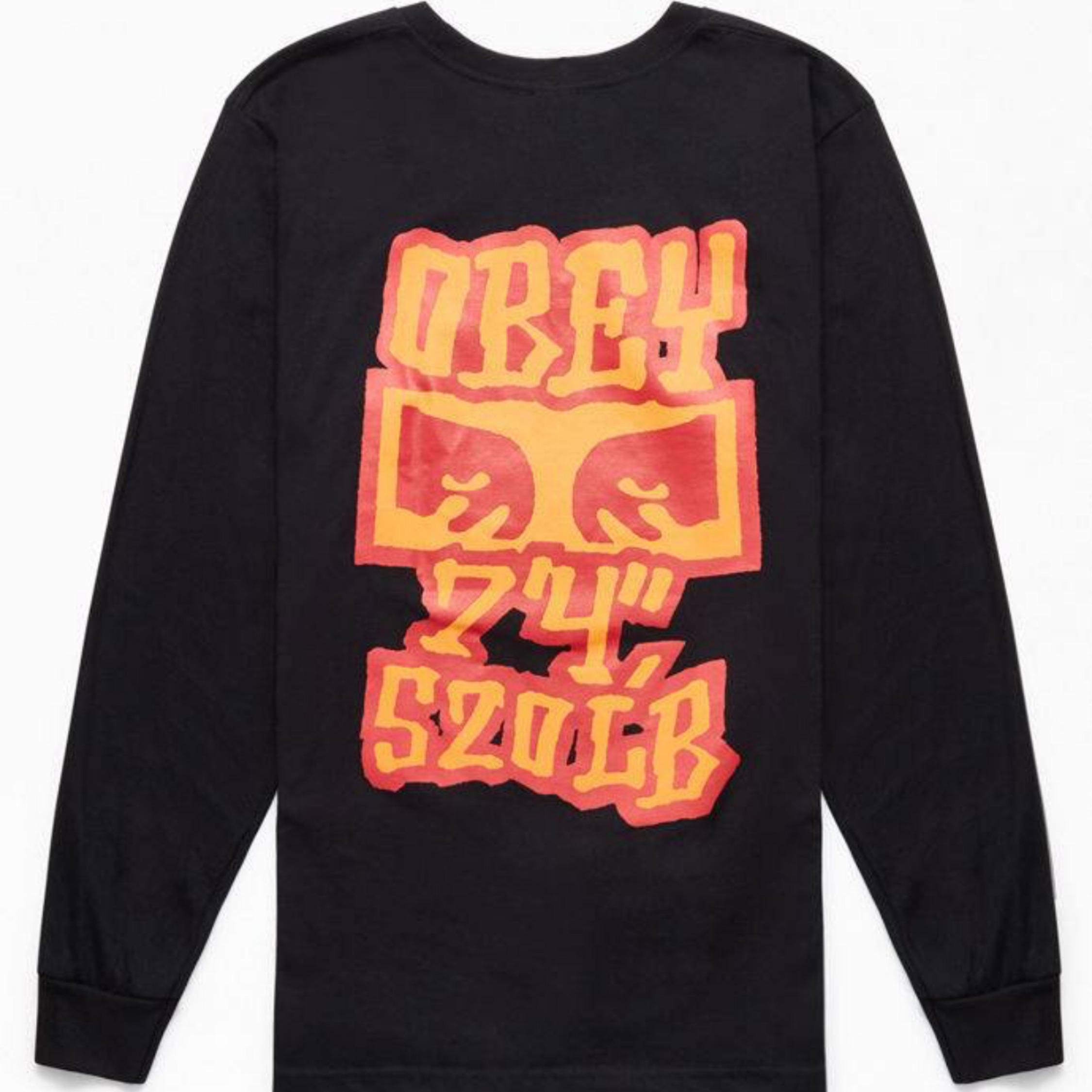 7b037350a096 Obey Seven Four Long Sleeve T-Shirt