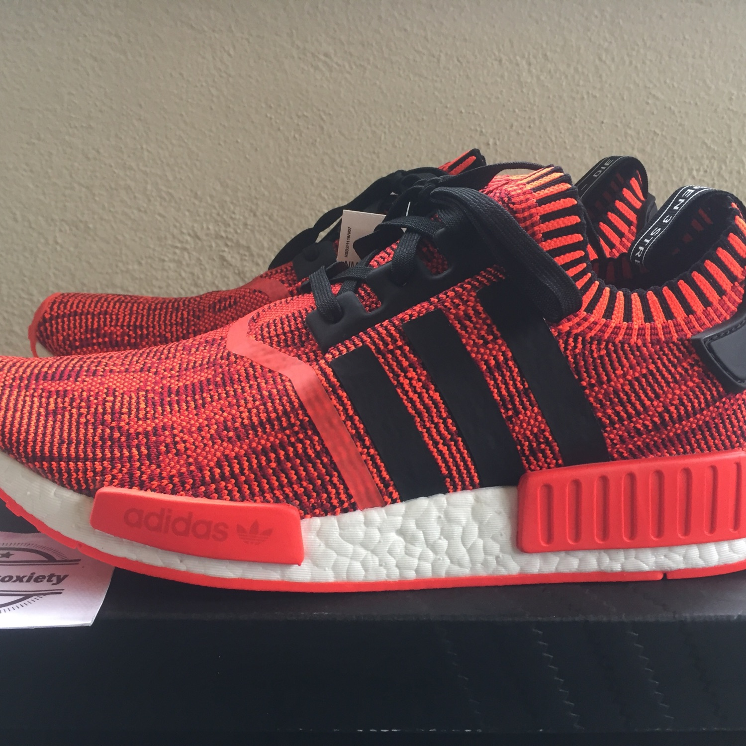 cheap for discount 0adf2 75bb8 Adidas Nmd R1 Pk Red Apple 2.0.