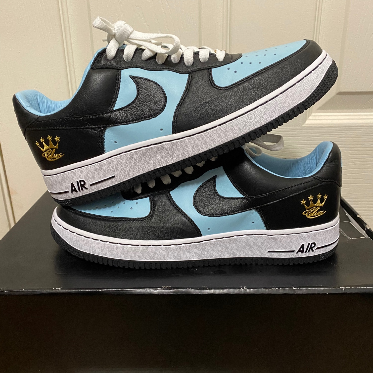 Air Force 1 Low Id Celux Baby Blue