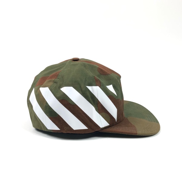 Off-White Diag Brushed Camouflage Cap One-Size