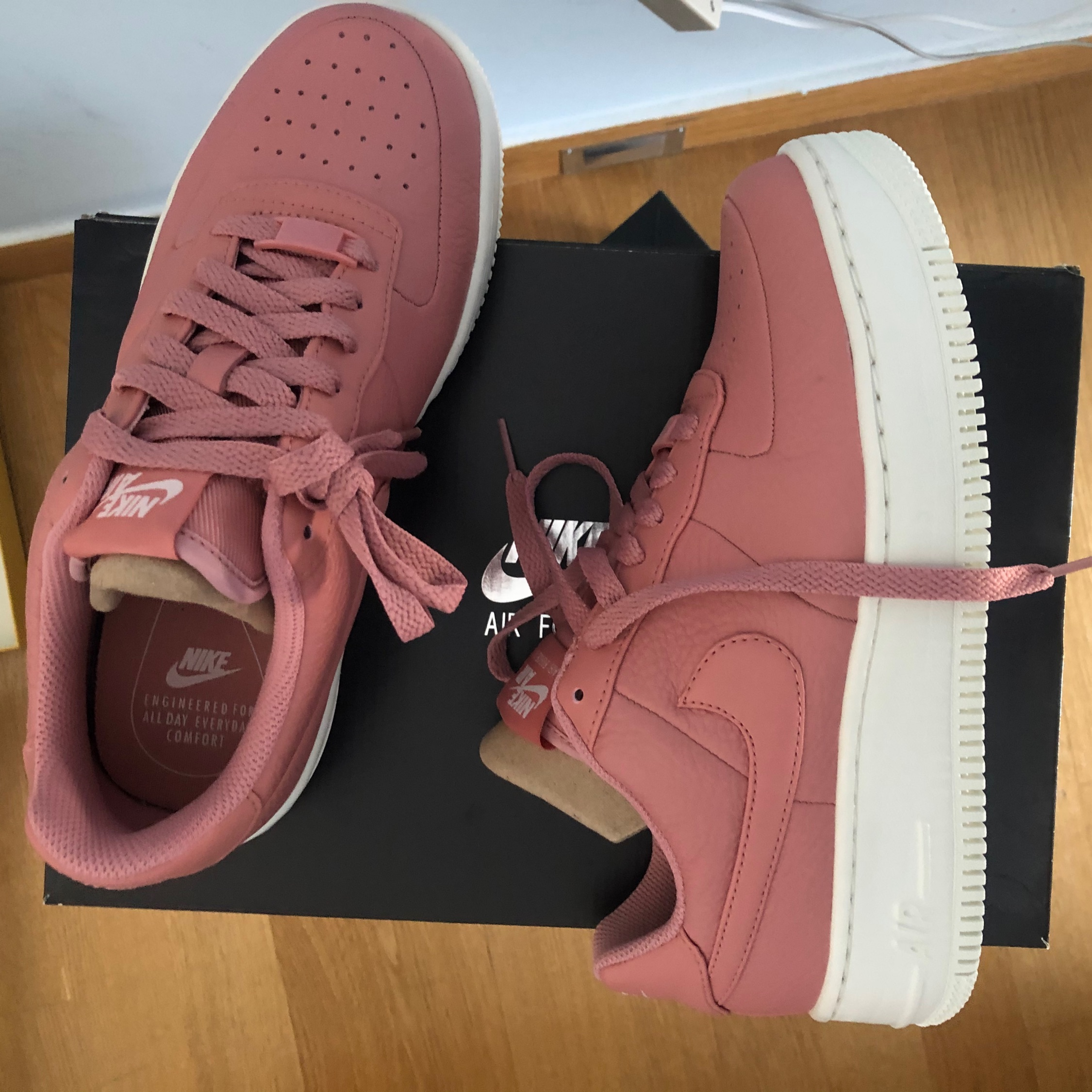 Air Force 1 Upstep Leather Dusty Pink (W)