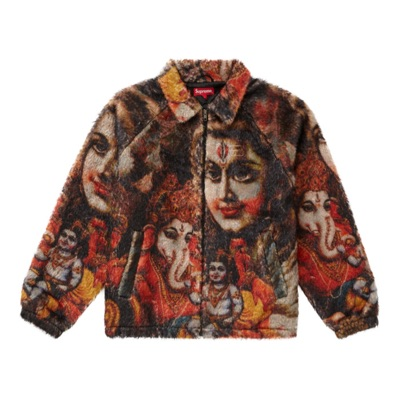 Supreme Ganesh Faux Fur Jacket Small