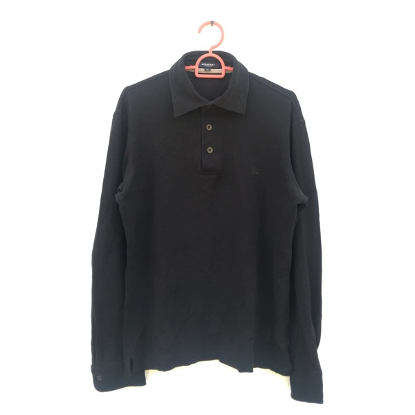 Burberry Polo Shirt Longsleeve Made In Japan