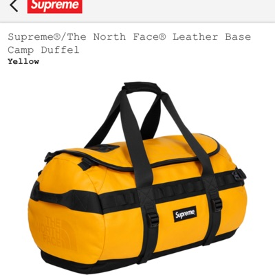 Supreme®/The North Face® Leather Base Camp Duffel