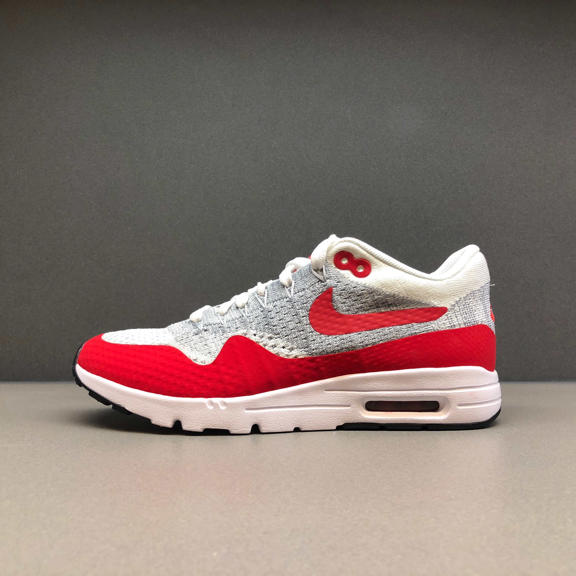 new styles 719a8 99858 Nike Air Max 1 Ultra Flyknit University Red W