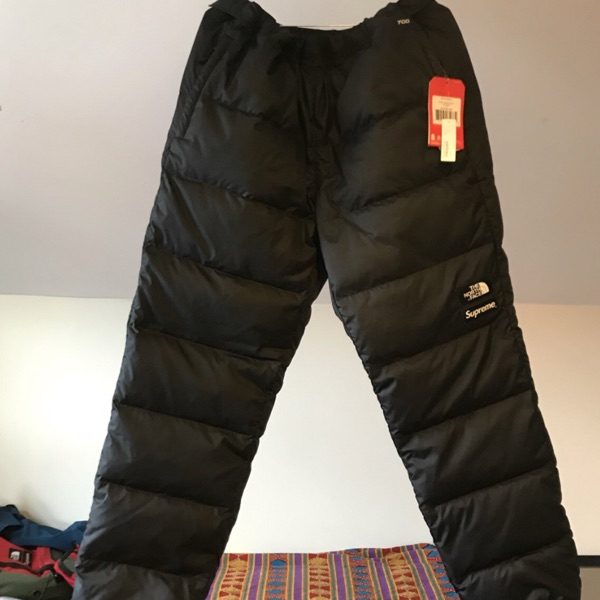 Supreme X The North Face 700 Fill Trousers Ds