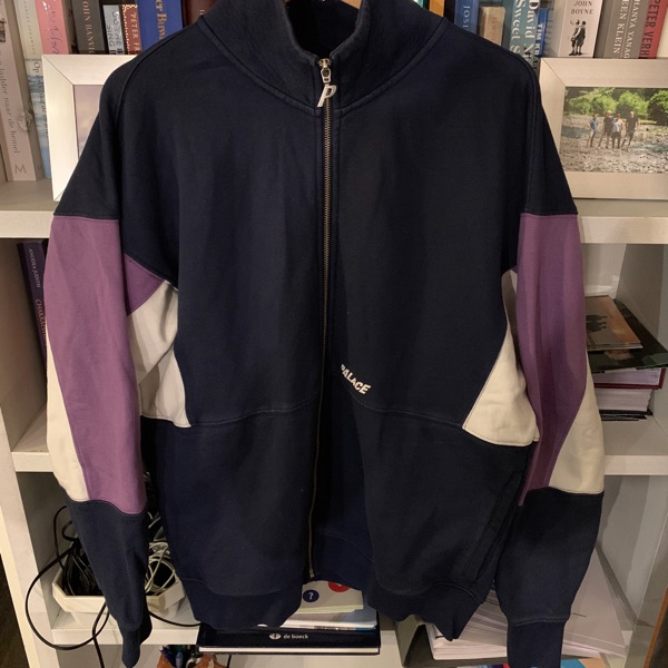 Palace Zip Up Track Top