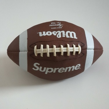 FW10 Supreme x Wilson American mini football