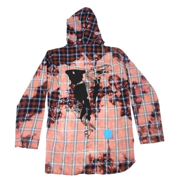 Japan Exclusive Vlone X Clot Flannel Large