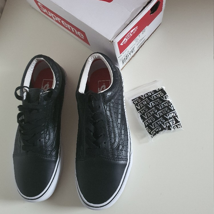 SS15 Supreme x Vans Perf check Old