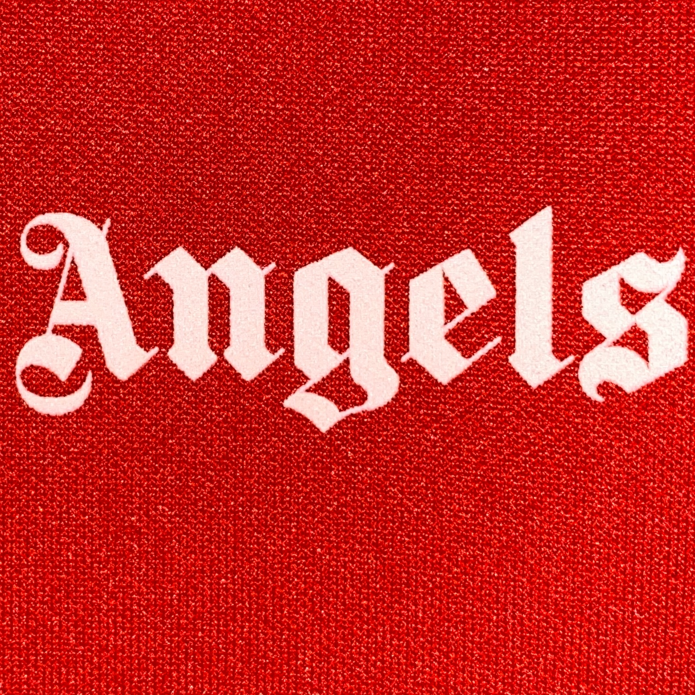 Palm Angels Red Long Sleeve