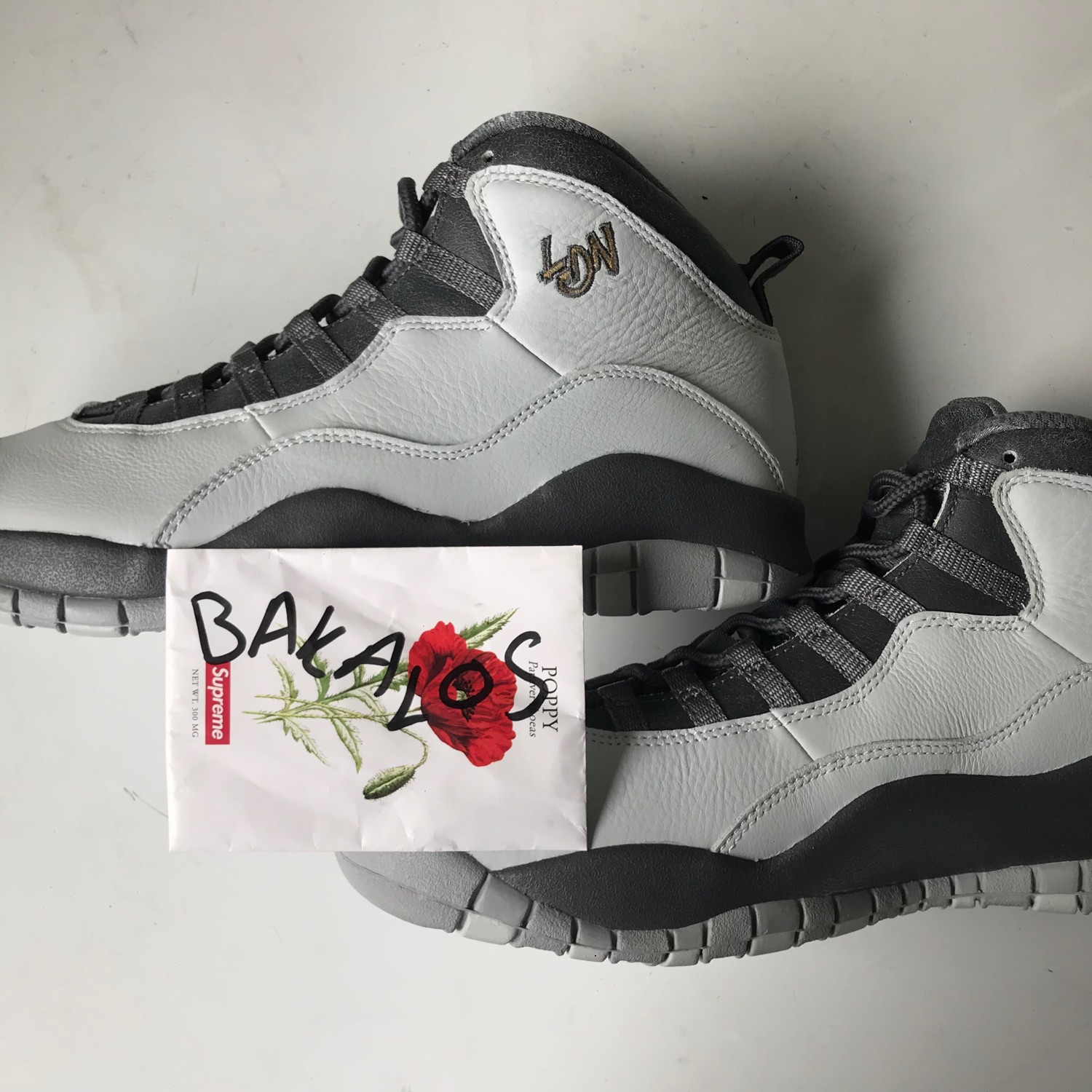 uk availability 0737c c9207 Air Jordan 10 Retro London Pack