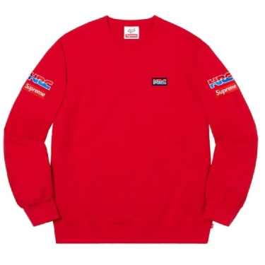Crewneck Supreme X Honda X Fox Racing