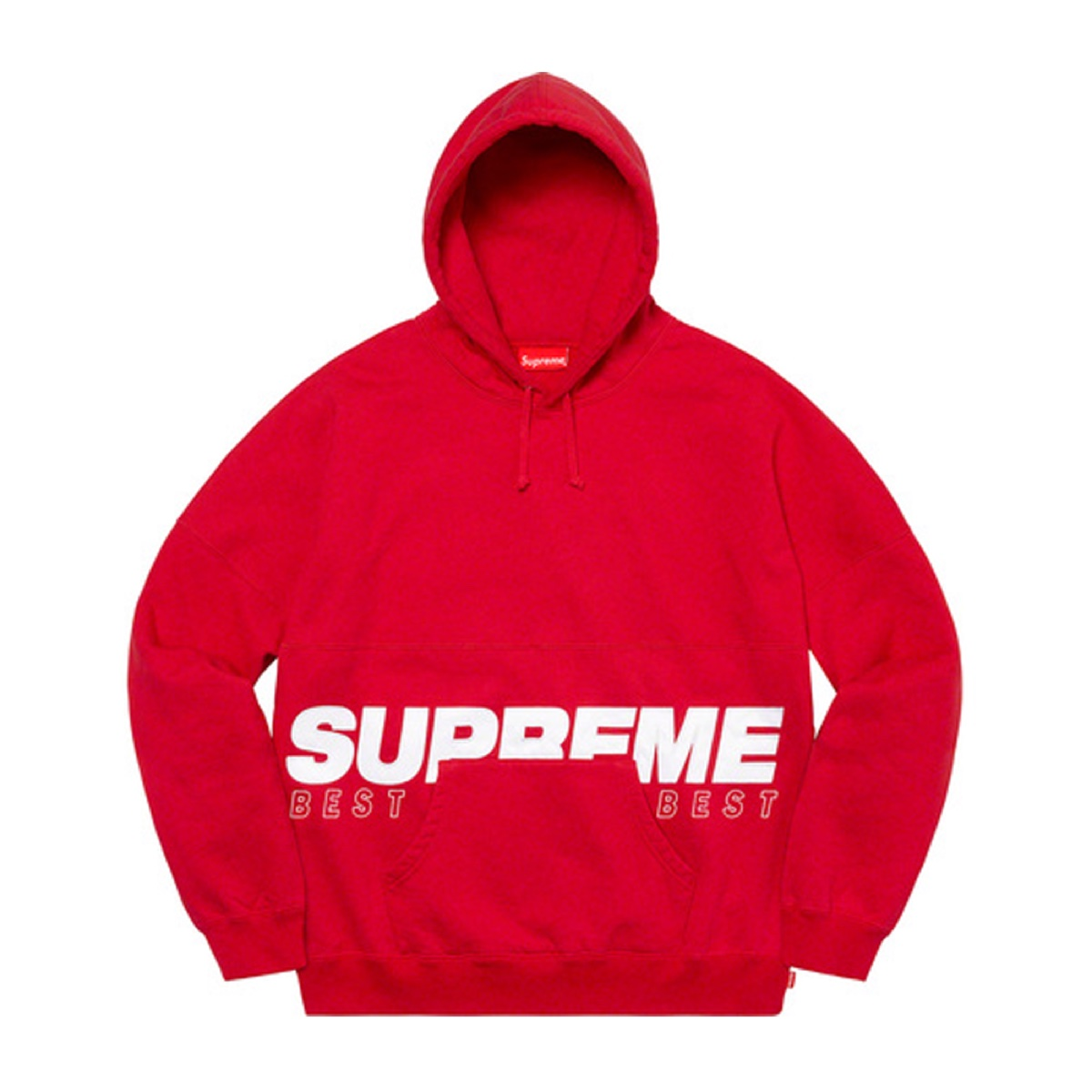 Supreme Best Of The Best Hooded Sweatshirt Red
