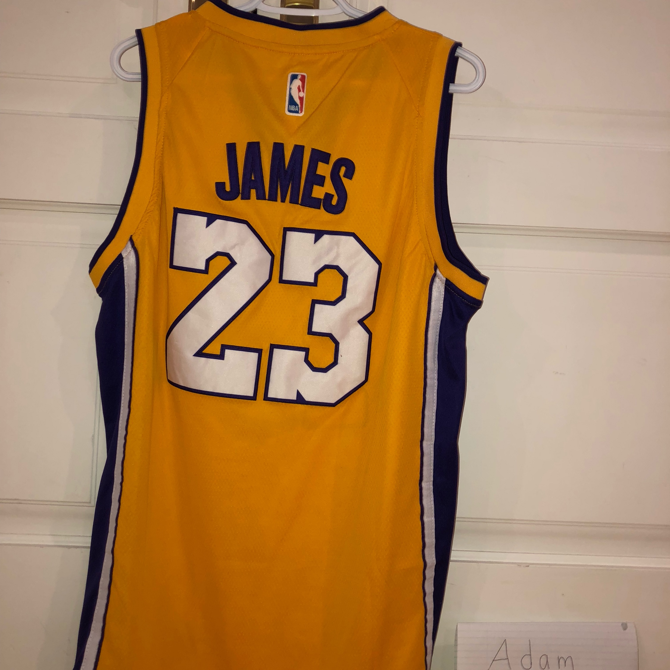 info for ff41f 3ac1f Brand New Lebron James Lakers Jersey