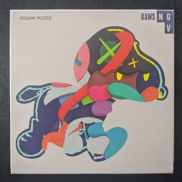 "In Hand SHIPS FAST KAWS NGV Exclusive /""Stay Steady/"" Jigsaw Puzzle 1000 Piece"